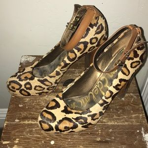 Sam Edelman Shoes - Sam Edelman Leopard Heels